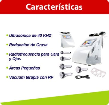 caracteristicas cavitacion 5en1