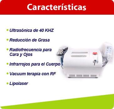 caracteristicas cavitacion 6en1