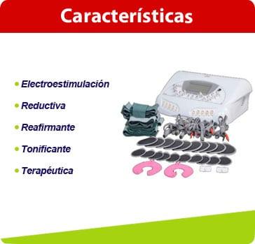 caracteristicas electroestimulcion ems02