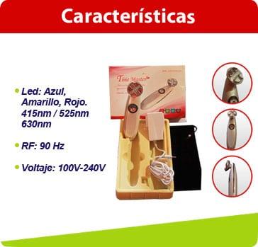 caracteristicas electroporador