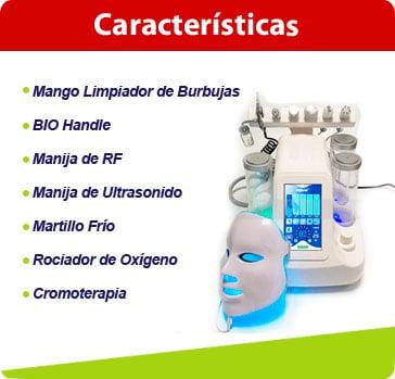 caracteristicas hydrafacial 7en1