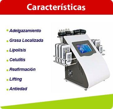 caracteristicas lipolaser 6en1