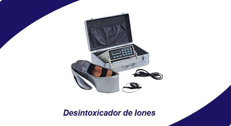 desintoxicador de iones