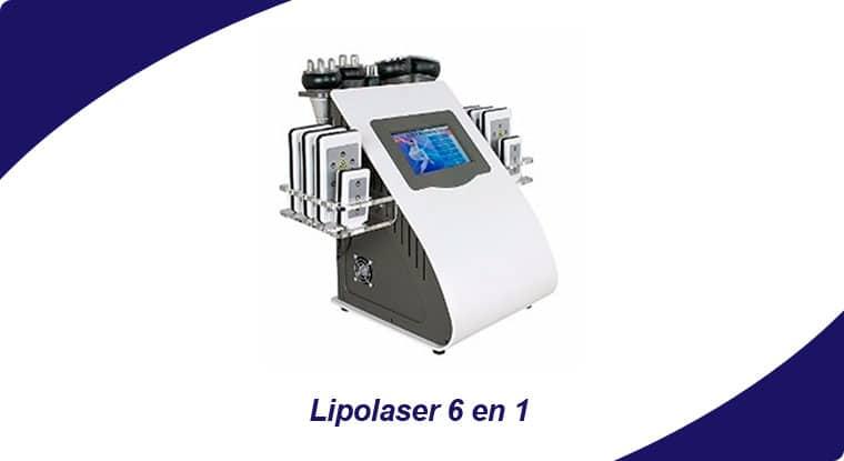 lipolaser equipo 6en1