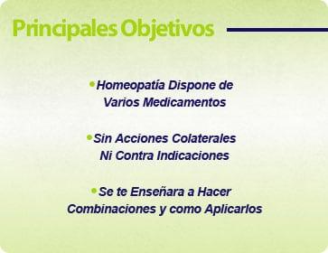 objetivos curso boitquin homeopatico