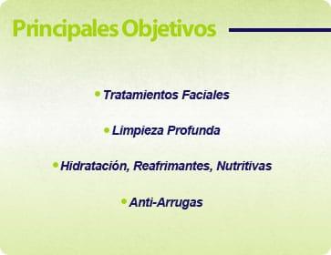 objetivos curso especializacion faciales
