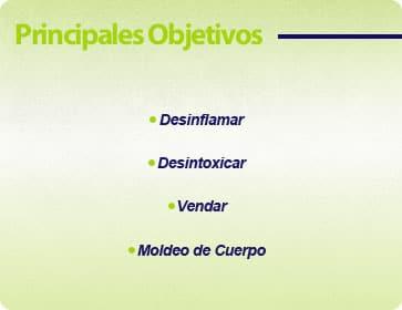 objetivos taller tratamientos reductivos reafirmantes y vendaje