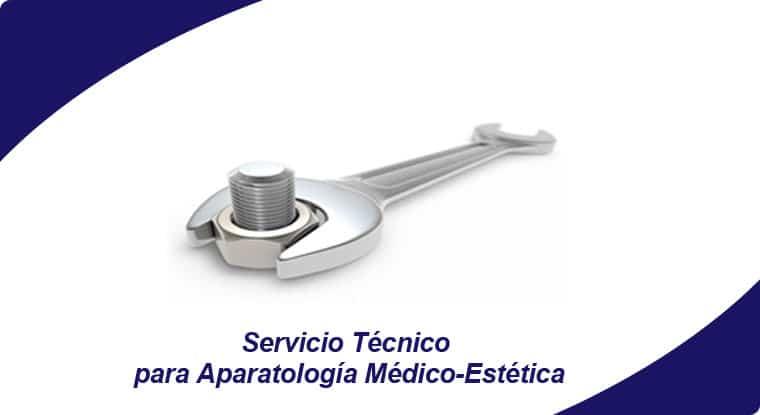 servicio tecnico para aparatologia medico estetica