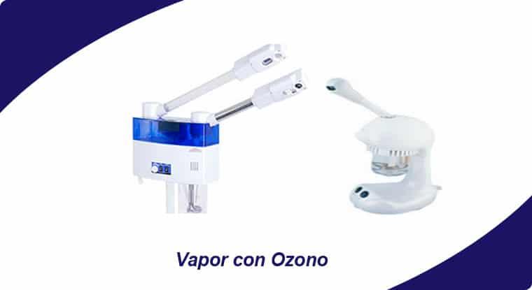 vapor con ozono